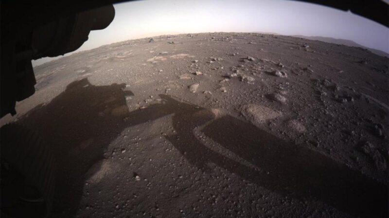 NASA paylaştı! Mars'a iniş anı