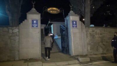 Bursa'da mezarlıktan gelen ses ekipleri harekete geçirdi
