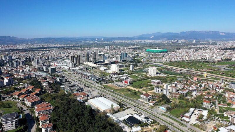 Bursa Türkiye'de ilk 4'e girdi!