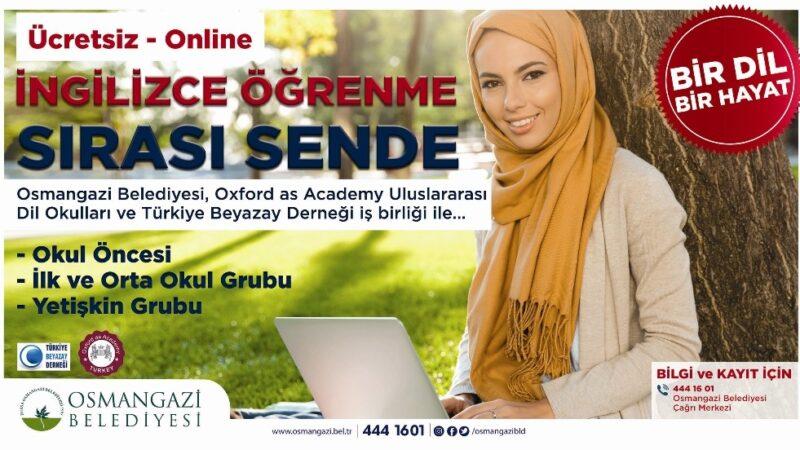 Osmangazi'de herkes dünya dili öğrenecek