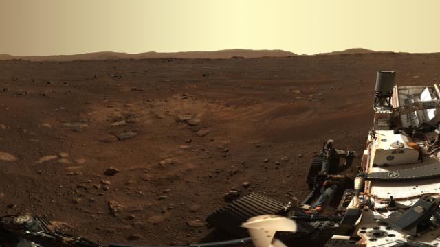 Mars'tan panoramik fotoğraf geldi