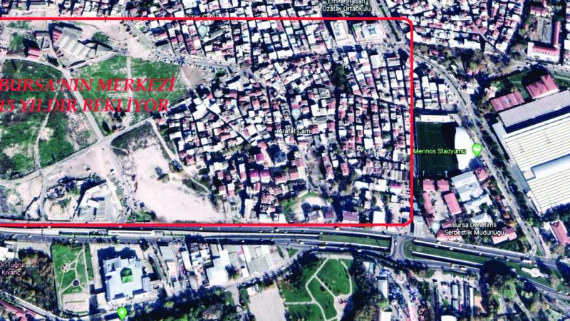 Bursa'ya yakışmıyor! 15 yıllık sorun bölge halkını isyan ettirdi…