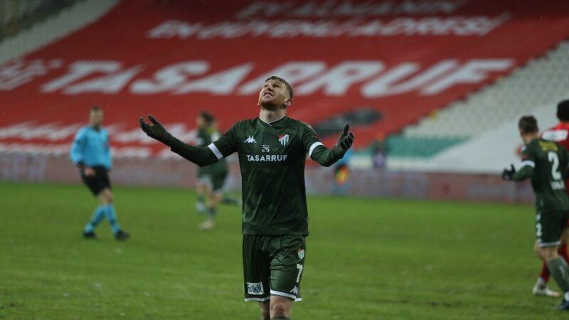 Bursaspor'dan bir ilk!