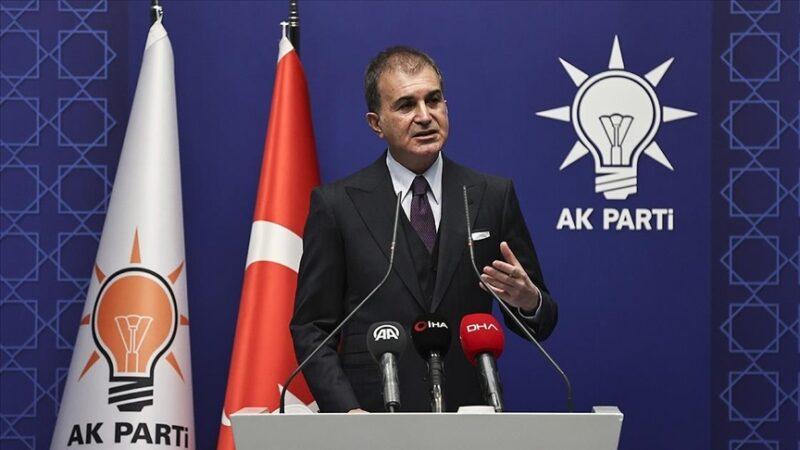 AK Parti Sözcüsü Çelik'ten Ermenistan açıklaması