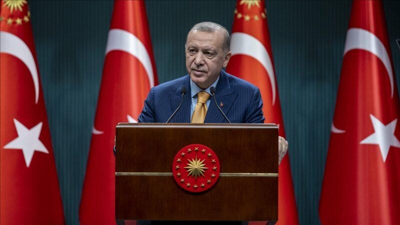 Erdoğan'dan ABD'ye terörle mücadele tepkisi
