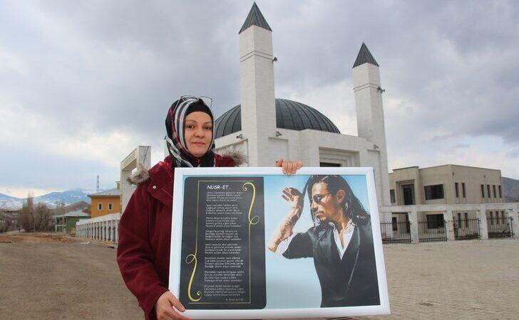 3 çocuk annesi hemşehrisinden Nusret'e şiir!