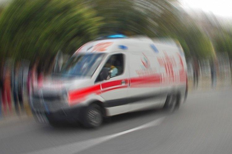 Bursa'da trafik kazası, 1 yaralı