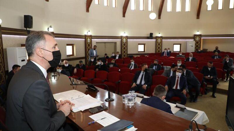 İnegöl'de mart ayı meclis toplantısı yapıldı