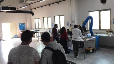 Baykoca İstikbal Roket Takımı BTÜ atölyelerini gezdi