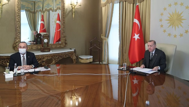 Cumhurbaşkanı Erdoğan, AB yetkilileriyle görüştü
