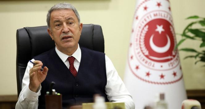 Bakan Akar: PKK eşittir YPG'dir