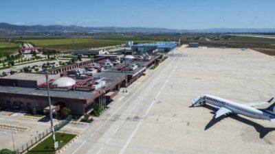 Yenişehir Havaalanı'nda kiralık alan…