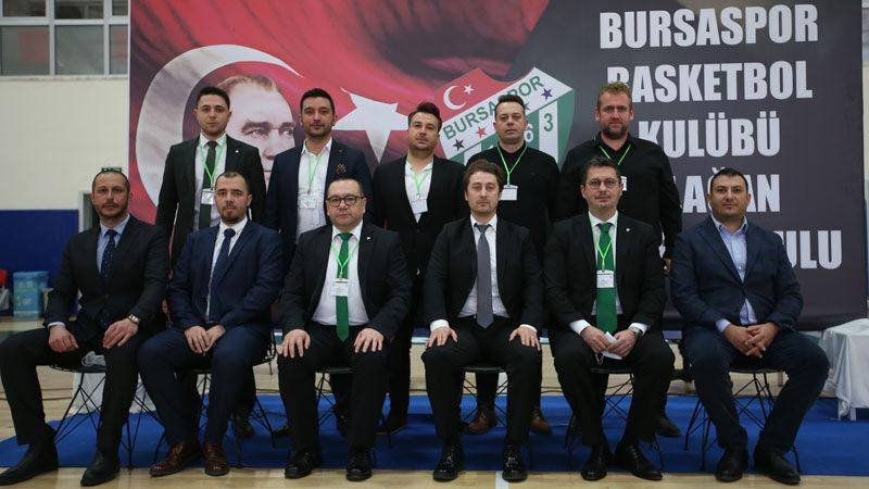Bursaspor'da kongre yapıldı! İşte yeni yönetim…