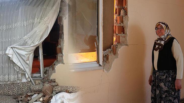 Uyurken hayatının şokunu yaşadı! 'Önce deprem oluyor zannettim'