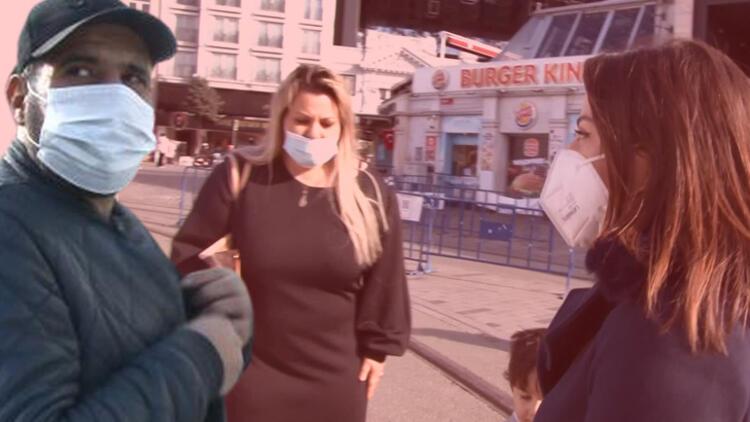 Kadınlar soluğu polisin yanında aldı! 'Arkamızdan takip ediyor'