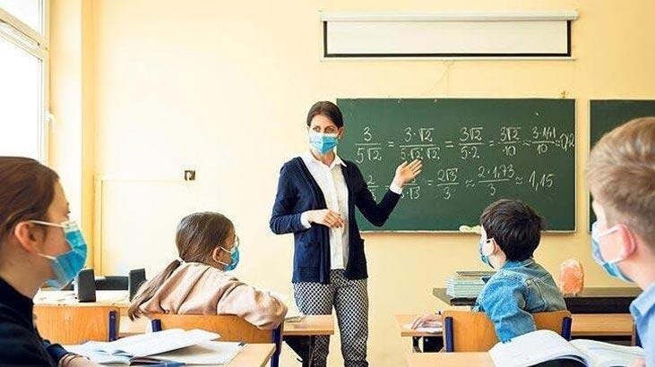 Kovid-19 vakası görülen okulda eğitime 10 gün ara verildi