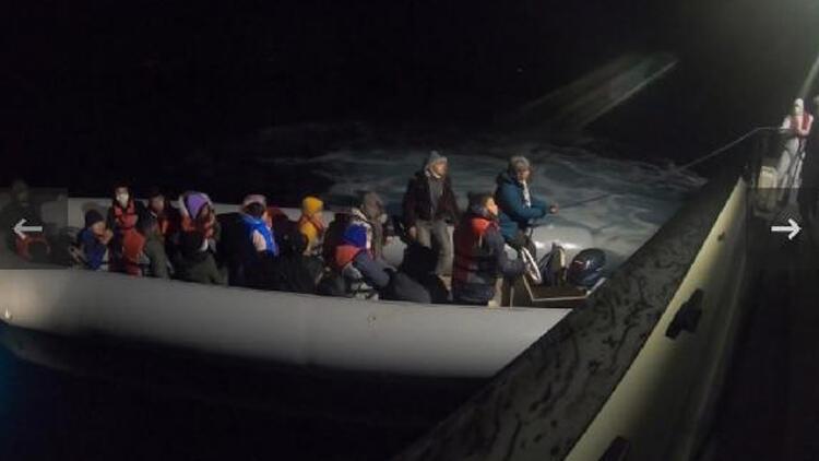 Yunanistan'ın ölüme terk ettiği 20 göçmeni Türkiye kurtardı