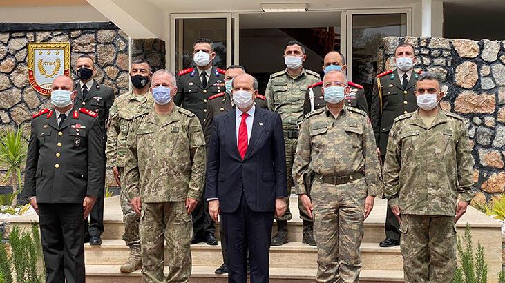 KKTC Cumhurbaşkanı Tatar: Türk askeri Adadan bir daha gitmeyecek