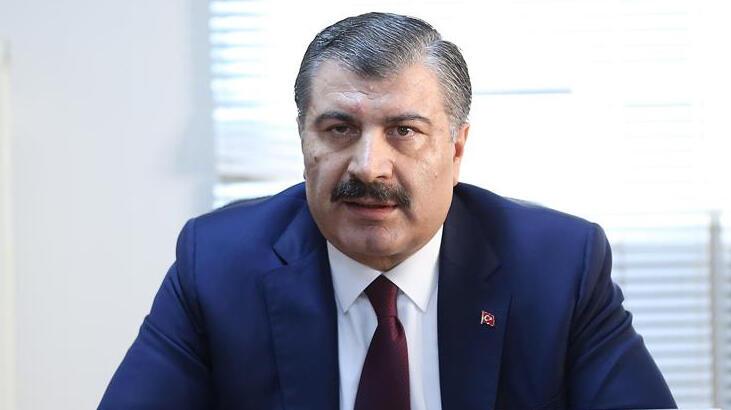 Sağlık Bakanı Fahrettin Koca'dan çalışanlara 'maske' uyarısı