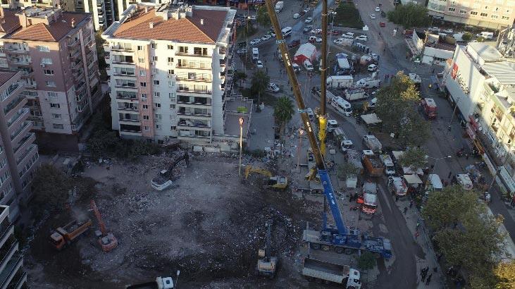 İzmir depreminde yıkılan Rıza Bey Apartmanı'nın fenni mesulü tutuklandı