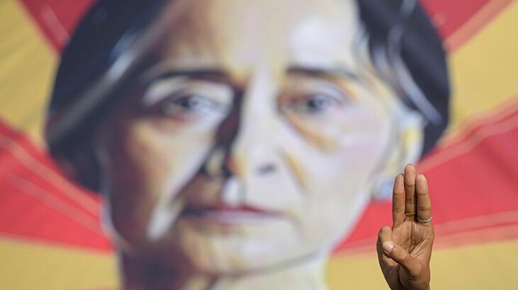 Myanmar'ın devrik lideri Suu Çii, sağlığının yerinde olduğunu açıkladı