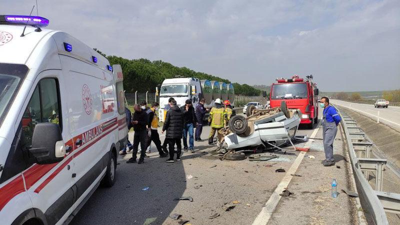 Bursa'da feci kazada can pazarı: Ölü ve yaralılar var