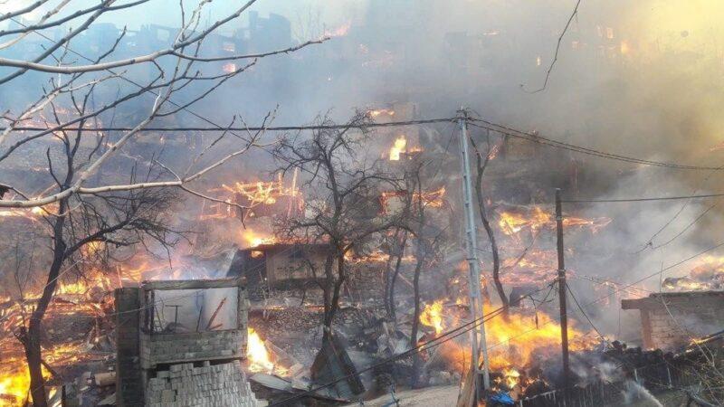 Yangın bu köyün kaderi! 24 yılda 3 büyük yangın