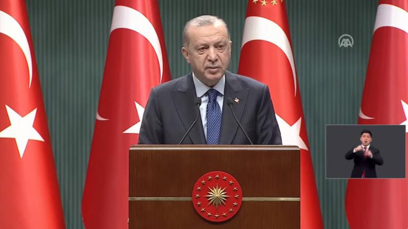 Cumhurbaşkanı Erdoğan açıkladı; Yasaklar kademeli kalkıyor…