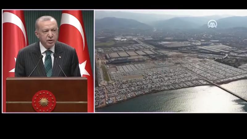 Cumhurbaşkanı Erdoğan'dan açıkladı; En büyük üretim merkezi olacak