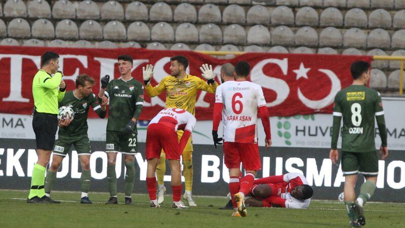 Bursaspor'dan maç sonu sıcak açıklama!