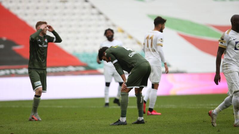 Bursaspor ağır yaralı!