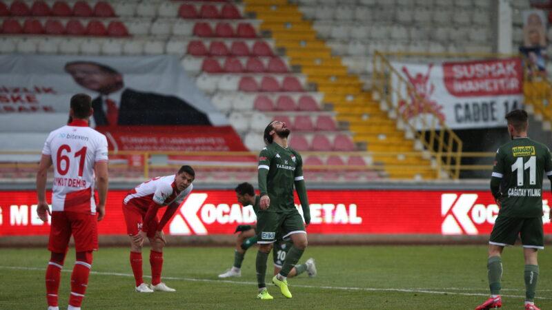Bursaspor'da moraller bozuk! İşte maç yorumları…
