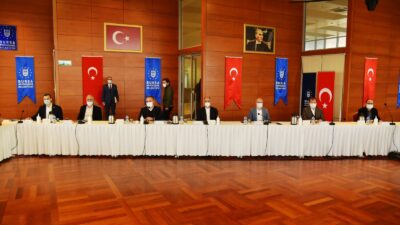 AK Parti Bursa'da önemli toplantı…