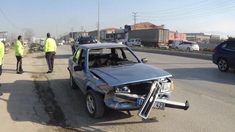 Bursa'da korkutan kaza! Bu araçtan çıktı…