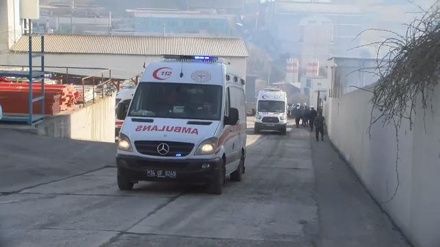 Deri fabrikasında patlama: Yaralılar var…