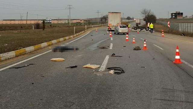 Eskişehir-Bursa yolunda aşırı hız ölüm getirdi! Ölü ve yaralılar var