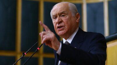 Bahçeli'den İstanbul Sözleşmesi açıklaması