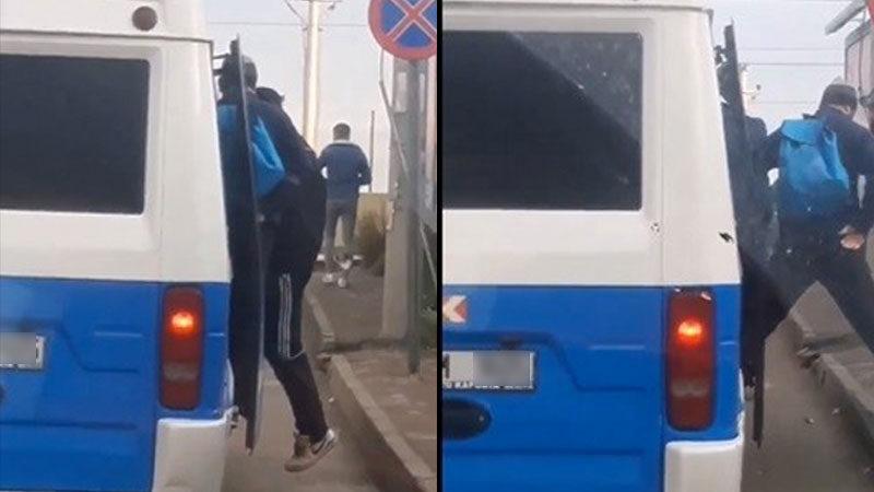 Bursa'da pes dedirten olay! Minibüsten 28 kişi çıktı