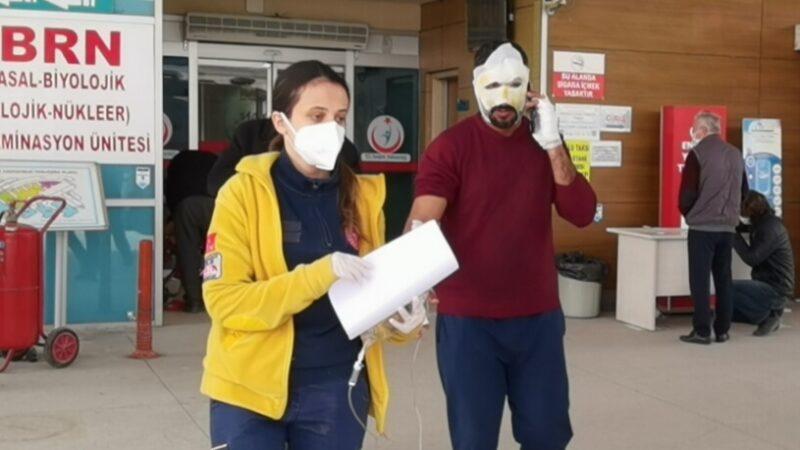 Bursa'da 2 kişi çöp yerine kendilerini yaktı