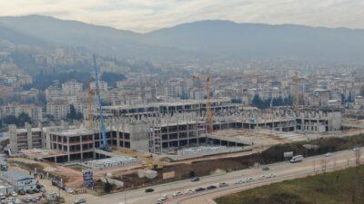 Bursa'da hızla yükseliyor! 2 yıl içinde hizmete girecek