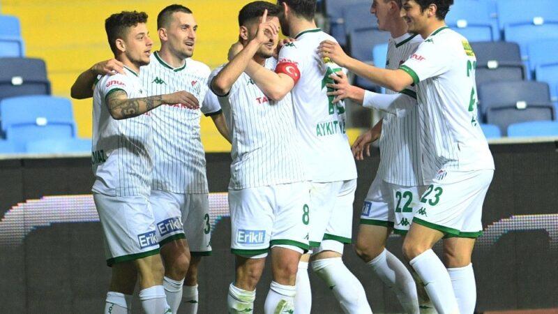 Bursaspor bu sezon bir ilki gerçekleştirdi