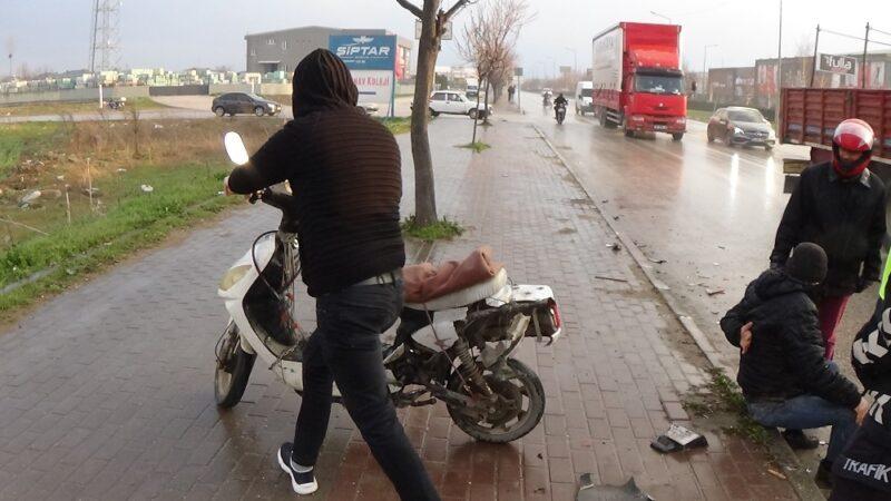 Bursa'da korkunç kaza! Çarpıp metrelerce sürükledi