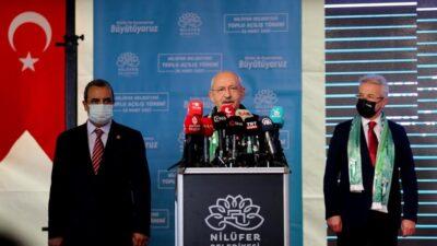 CHP Lideri Kılıçdaroğlu Bursa'da açılışlar yaptı…