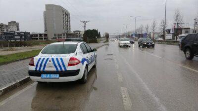 Bursa'da 4 farklı noktada denetim! Sınırı aşanlara ceza…