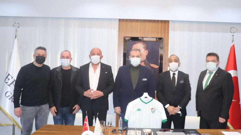 Referans Grup'tan Bursaspor'a destek…