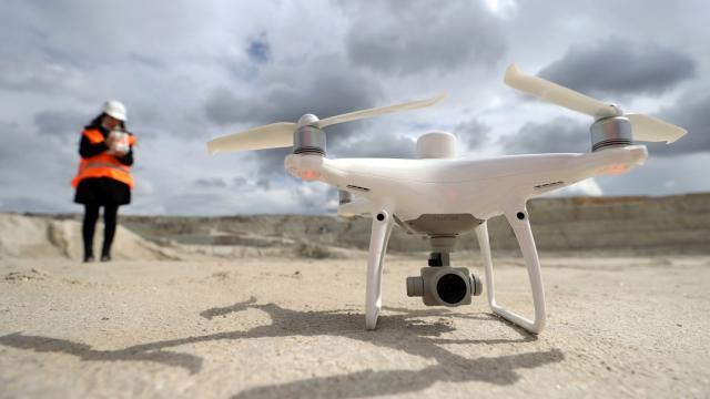 Maden sahalarında drone'lu denetim dönemi başladı