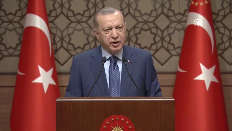 Cumhurbaşkanı Erdoğan, İmam Hatip Lisesi Hafızları İcazet Töreni'ne katıldı