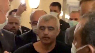 Gergerlioğlu'na Meclis'te gözaltı!