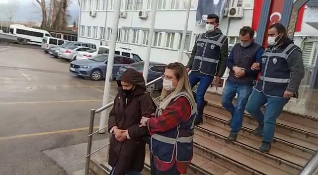 74 ayrı suçtan aranan çift Bursa'da yakalandı