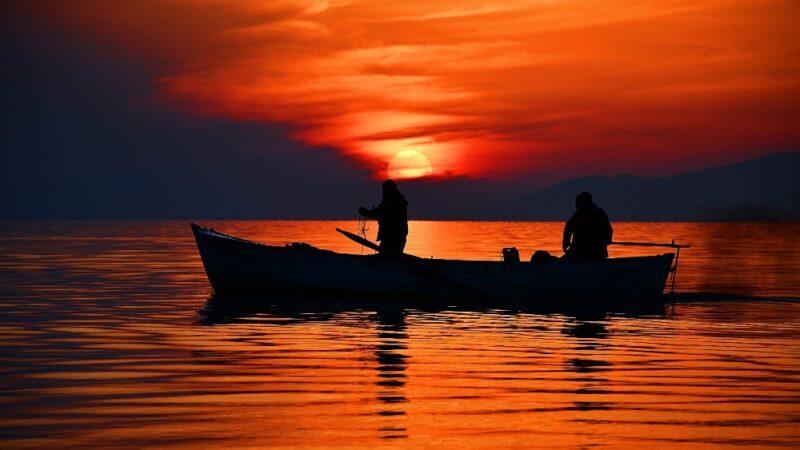 İznik Gölü'nde ekinoks zamanı